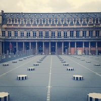 Photo taken at Palais Royal by Antoine on 4/7/2013