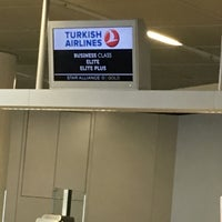 Photo taken at Terminal 1 by Kürşat B. on 4/24/2016