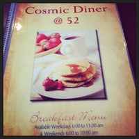 Photo taken at Cosmic Diner by David I. on 12/15/2012