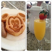 Photo taken at Grand Floridian Café by Erica B. on 4/21/2013