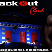 Photo taken at Black Out Sex Club by comovc d. on 9/15/2012