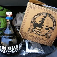 Photo taken at Russian River Brewing Company by jen s. on 7/27/2013