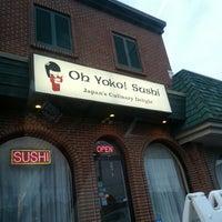 Photo taken at Oh Yoko by John D. on 8/31/2013
