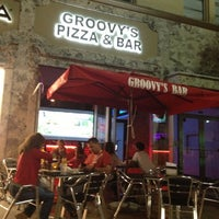 Photo taken at Groovy's Pizza by Rafael B. on 4/27/2013
