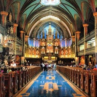 Photo taken at Notre-Dame Basilica of Montréal by Paul R. on 5/31/2013
