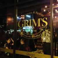 Photo taken at Grim's Provisions & Spirits by Jordan V. on 10/28/2012