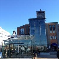 Photo taken at Frihamnsterminalen   Tallink - S:t Peter Line by aiz_baby on 10/13/2012