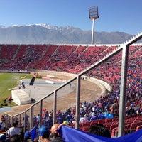 Photo taken at Estadio Nacional Julio Martínez Prádanos by Pablo R. on 5/5/2013