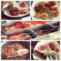 Photo taken at Blue Garden Korean BBQ Restaurant by Shirley M. on 2/17/2014