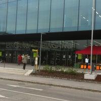 Photo taken at Messezentrum Salzburg by Alexander C. on 4/28/2013