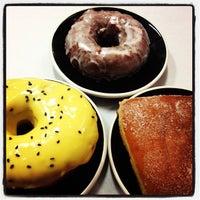 Photo taken at Gypsy Donut & Espresso Bar by Traci S. on 4/15/2013