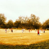 Photo taken at Clapham Common by Vitor P. on 4/7/2013