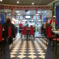 Photo taken at American Coney Island by Brian A. on 11/17/2012