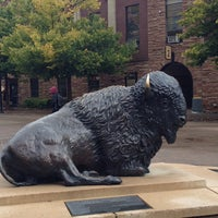 Photo taken at University of Colorado Boulder by Tamara on 10/4/2013