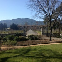 Photo taken at Beaulieu Vineyard's Rutherford House by Cassandra H. on 2/17/2013