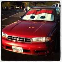 Photo taken at Katella Cast Member Parking Lot (K-Lot) by Kelsey B. on 1/20/2013