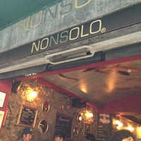 Photo taken at NONSOLO by Pau C. on 7/28/2013