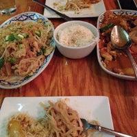 Photo taken at Thai Arroy Restaurant by Tyler P. on 3/1/2014