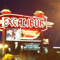 Photo taken at Excalibur Hotel & Casino by Marcela Q. on 2/18/2013
