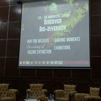 Photo taken at Auditorium Perpustakaan Sultanah Nur Zahirah, UMT by Aidil Z. on 3/26/2016