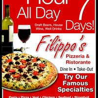 Photo taken at Filippo's Pizzeria by Sassicaia I. on 12/7/2013