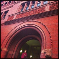 Photo taken at Sever Hall by Isa L. on 9/13/2013