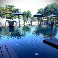 Photo taken at Anantara Seminyak Bali Resort & Spa by BurhanAbe on 6/22/2013