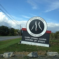 Photo taken at Finger Lakes Distilling by Kristi F. on 9/29/2012