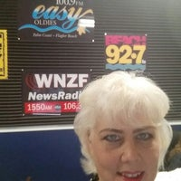 Photo taken at WNZF/Beach 92.7 Studios by Lisa S. on 4/6/2015
