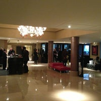Photo taken at The May Fair Hotel by Travis H. on 3/7/2013