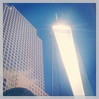 Photo taken at One World Trade Center by David P. on 5/17/2013