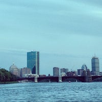 Photo taken at Charles River by Qasim R. on 10/19/2013
