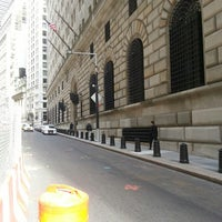 Photo taken at Federal Reserve Bank of New York by William C. on 9/26/2013