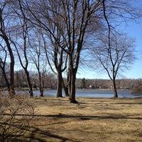 Photo taken at Washington Township Lake by Will T. on 3/31/2014