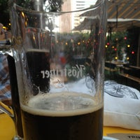 Photo taken at The Biergarten at The Standard, Downtown LA by Thirsty J. on 9/12/2013