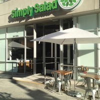 Photo taken at Simply Salad by Thirsty J. on 2/14/2013