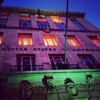 Photo taken at U.S. Post Office by Lukas K. on 10/28/2012