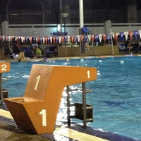 Photo taken at สระว่ายน้ำ การกีฬาแห่งประเทศไทย by Pruttipan C. on 12/26/2012
