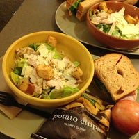 Photo taken at Panera Bread by Daniel L. on 4/9/2014