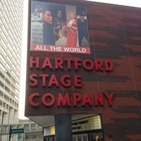 Photo taken at Hartford Stage by Joe G. on 4/4/2013