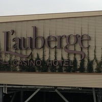 Photo taken at L'Auberge Casino & Hotel by David C. on 2/23/2013