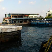 Photo taken at Hulhumalé Ferry Terminal (Malé) by Modern T. on 2/28/2013