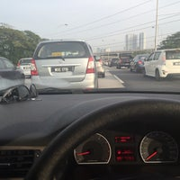 Photo taken at East-West Link Expressway by Amira A. on 5/3/2016