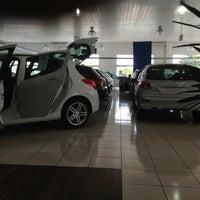 Photo taken at Peugeot Mont Blanc by Fernando O. on 1/8/2013