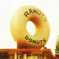 Photo taken at Randy's Donuts by Joey L. on 6/6/2013