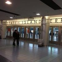 Photo taken at Staten Island Ferry - St. George Terminal by Heathyre P. on 9/6/2013