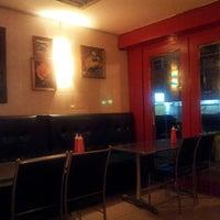 Photo taken at Salmon Steak Restaurant by Yang Y. on 10/5/2013