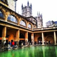 Photo taken at The Roman Baths by Sebastián M. on 9/23/2012