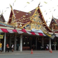 Photo taken at Wat Rai King (Wat Mongkhon Chindaram) by Nooch G. on 10/13/2012
