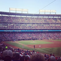 Photo taken at Globe Life Park in Arlington by Emily S. on 8/21/2013